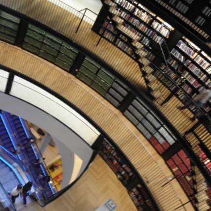 The Library of Birmingham- Book Rotunda