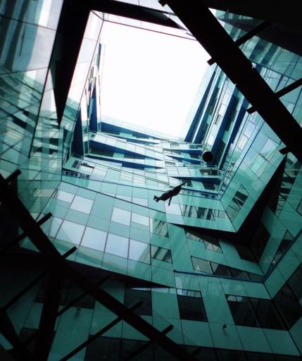 The Cube- atrium