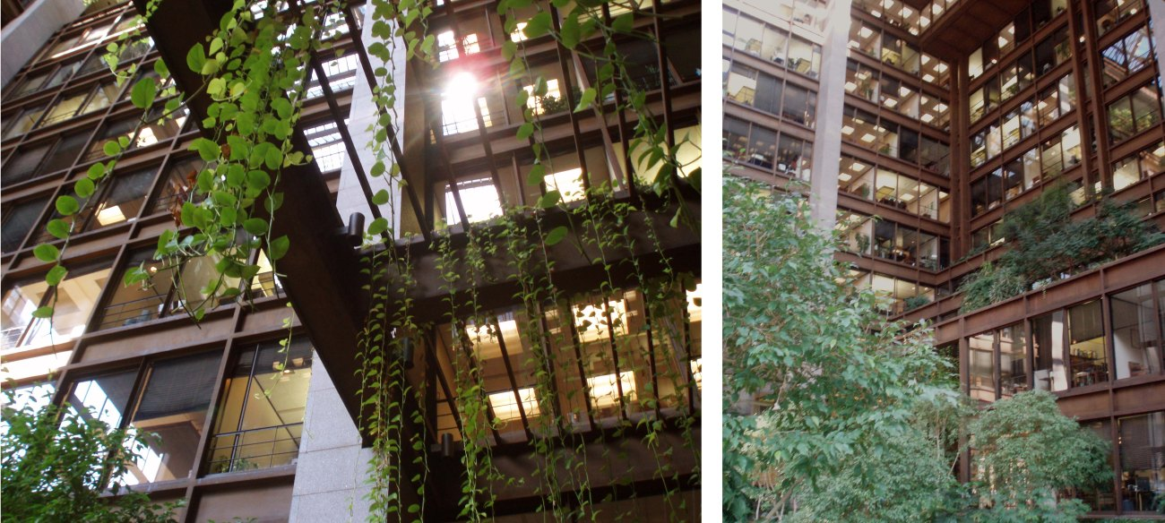 The Ford Foundation Building NYC-Atrium garden