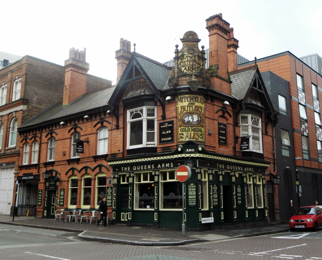 The Queens Arms, Newhall Street