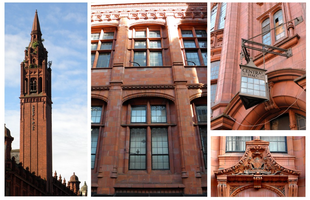 Red Terracotta Details: The Victoria Law Courts & Methodist Central Hall